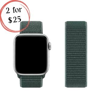 Pine Green Sport Loop Band for Apple iWatch
